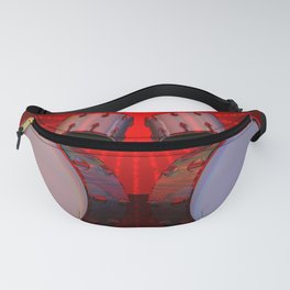 Drums POV Ray Tracing Fanny Pack