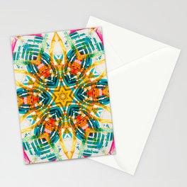 KaleidoMandala || #society6 #decor #buyart Stationery Cards
