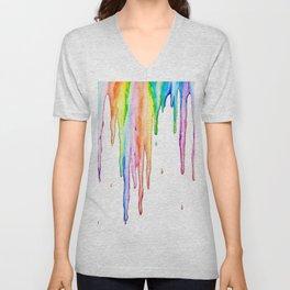 Colorful Icicles Unisex V-Neck