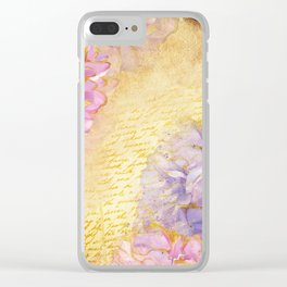 Luv Letter Clear iPhone Case