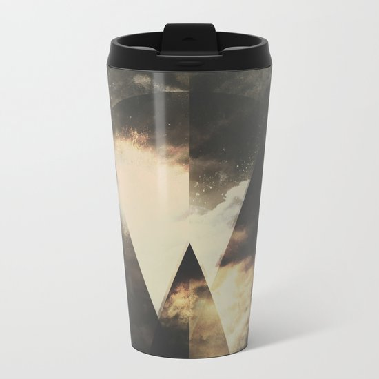 The mountains are awake Metal Travel Mug