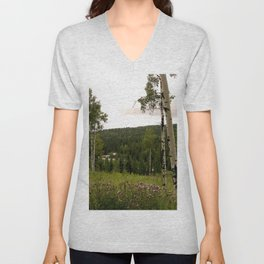 Spring in WaterValley Unisex V-Neck