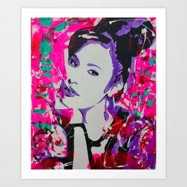 La Reyna Art Print