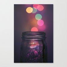 Bokeh Lighting Effects Canvas Print