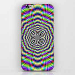 Psychedelic Octagon Pulse iPhone Skin