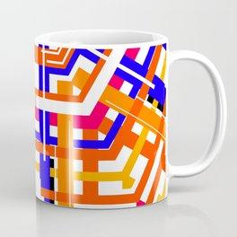 Lined Maze Coffee Mug