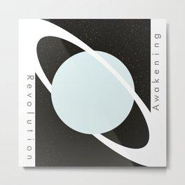 Rings of Uranus Metal Print