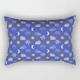 Weather Forecast Rectangular Pillow