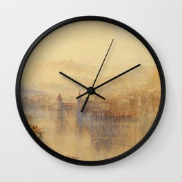 "J.M.W. Turner ""Lucerne from the Lake"" Wall Clock"
