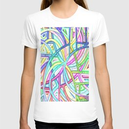 Candy Colored Clown Coils T-shirt