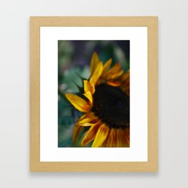 Unfurl Framed Art Print