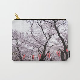 Cherry Blossoms in spring Carry-All Pouch