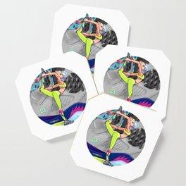 Yoga girl Cool Noodle and Jordan Fresh Prince Coaster