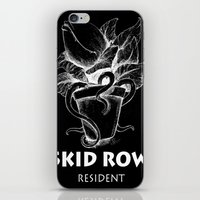resident evil iPhone & iPod Skins featuring Skidrow resident by Darius Malone