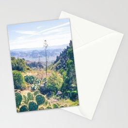 Vibrant Desert Landscape Stationery Cards