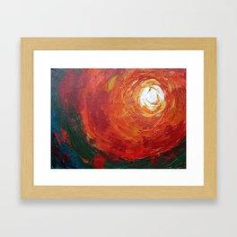 Light Orb Framed Art Print