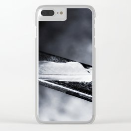 Caged bird free. Clear iPhone Case