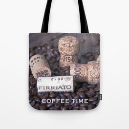 COFFEE & CORK Tote Bag