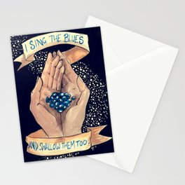 Just Off The Key of Reason Stationery Cards