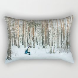 Snow white story Rectangular Pillow