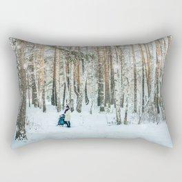 Snow white story Rectangular Pillow
