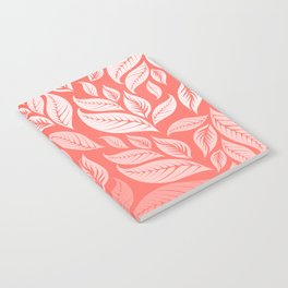 LIVING CORAL LEAVES 2 Notebook