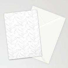calm breezy ferns Stationery Cards