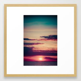 Count To 10 Framed Art Print