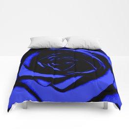 Blue Rose : Pretty Flowers Comforters