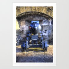 Cannon Edinburgh Castle Art Print
