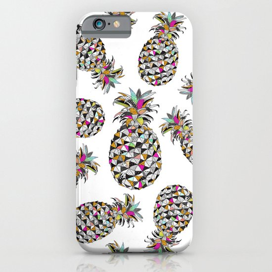 Pineapple with style iPhone & iPod Case
