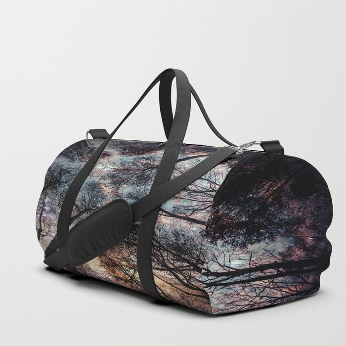 Starry Sky in the Forest Duffle Bag