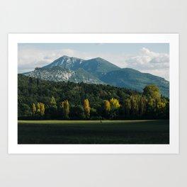 Moustiers-Sainte-Marie Art Print