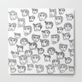People are watching -1- Metal Print