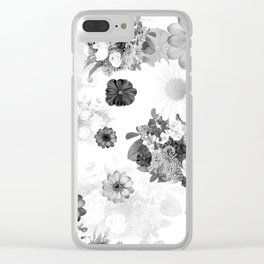 Flowers VII Clear iPhone Case