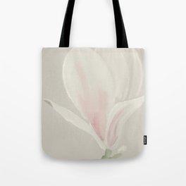 Botanical Brushstrokes ● Magnolia Blossom Tote Bag