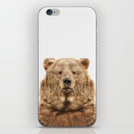 Bear European iPhone Skin
