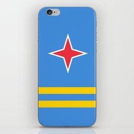 flag of Aruba iPhone Skin