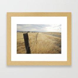 Merced, CA Framed Art Print