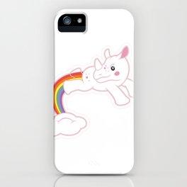 Unicorn dreaming! by Thom Van Dyke iPhone Case