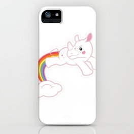 Unicorn dreaming! by Thom Van Dyke iPhone Case