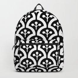 Atomic Mushroom Black & White Backpack