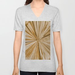 439 - Abstract water design Unisex V-Neck