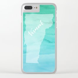 Sweet Home Vermont Clear iPhone Case