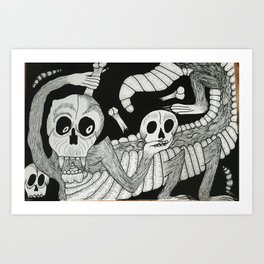 Jose's Monster Art Print