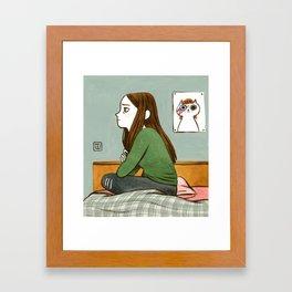 Teen Angst Framed Art Print