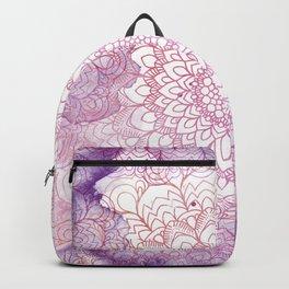 Mandala Watercolor Backpack