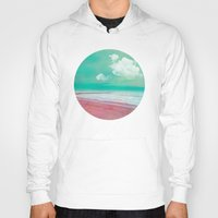 silent Hoodies featuring SILENT BEACH by INA FineArt