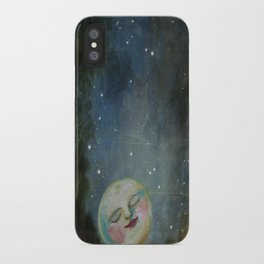 Always Kiss the Moon Goodnight  iPhone Case