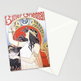 Bitter Oriental Stationery Cards